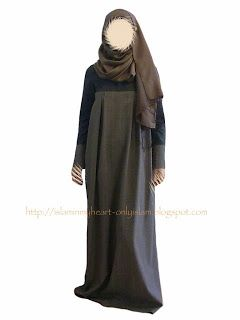Beautiful Ideas For Every Muslimah: DIY Abaya in 2 hours!