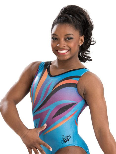 Blue Phoenix Simone Biles Leotard from GK Elite