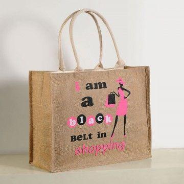 Jute Shopping Bag- JCB01-609