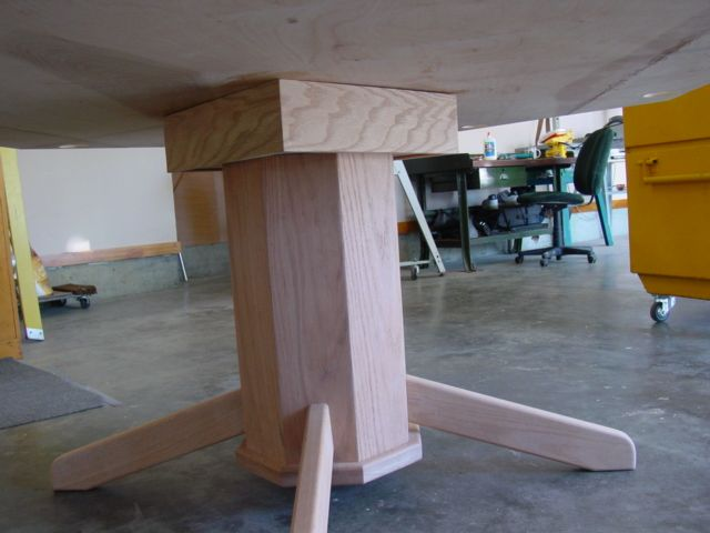 part 4 how to build an octagon poker table building the pedestal legs and. beautiful ideas. Home Design Ideas