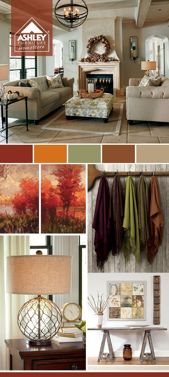 images decor room linettecasiano dining the ideas ashley homestore fall app best tones pinterest autumn on furniture sets gaylon for living cupboard love