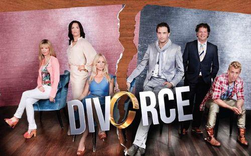 De succesvolle tv-serie Divorce