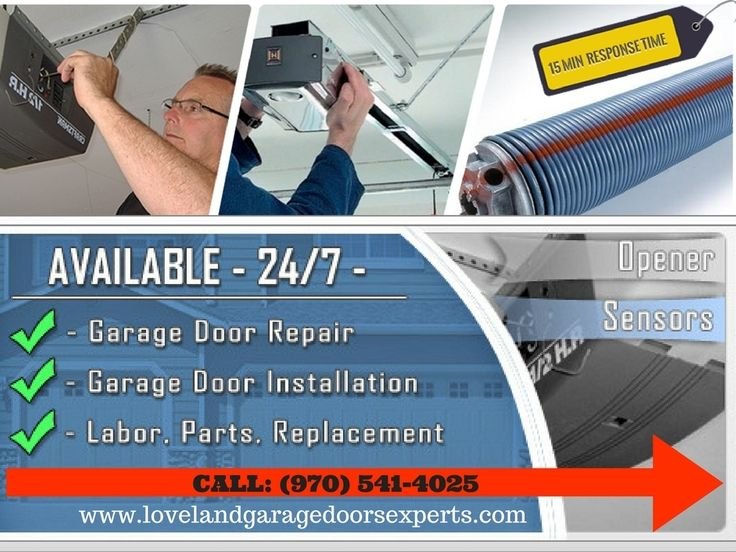 Lovend Garage Door Experts Announces Same Day Residential & Commercial Garage Door Repair & Installation Service at No Extra Cost    CALL Us (970) 541-4025 or visit on www.lovelandgaragedoorsexperts.com