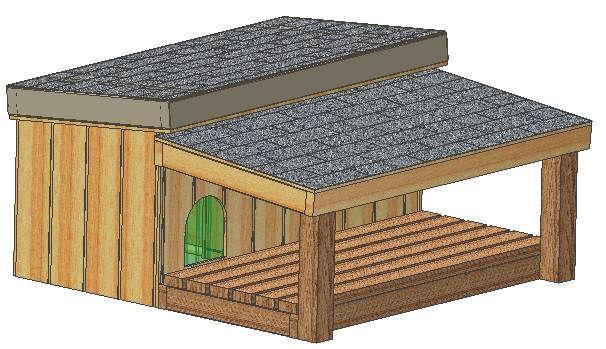 312d18600542c00fc041e66d8595d03b insulated dog houses dog house plans