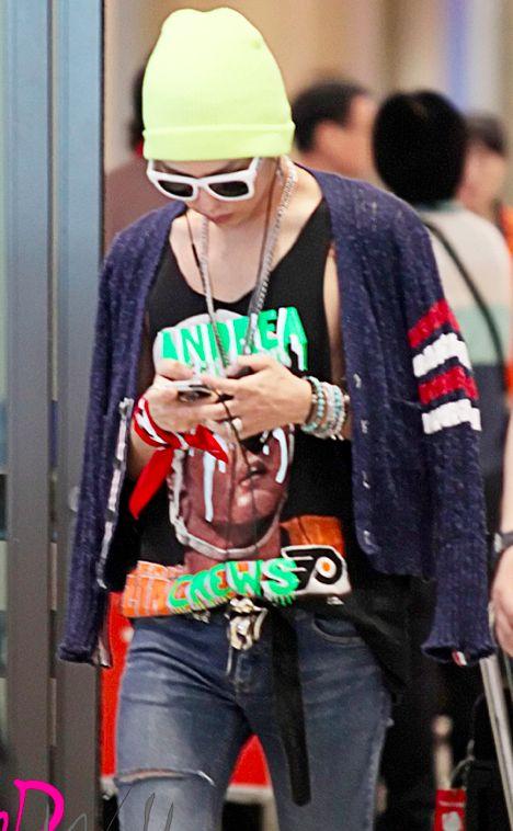 Airport Fashion: The G Dragon Swag-licious Edition