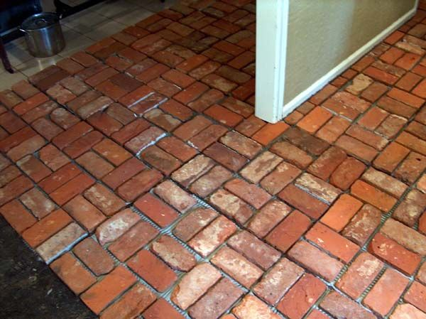 How To Clean Interior Brick Floors Brick Flooring Brick