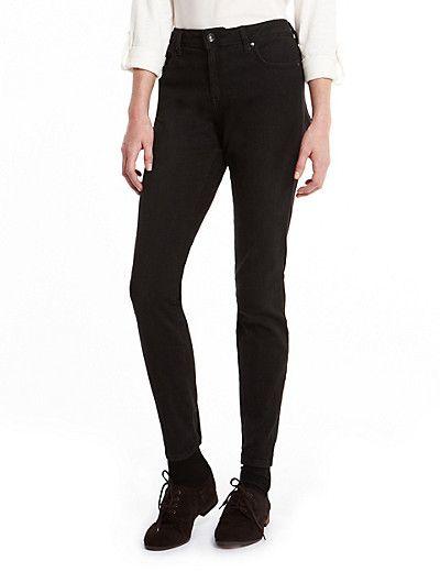 Ankle Grazer Skinny Jeans imagens)