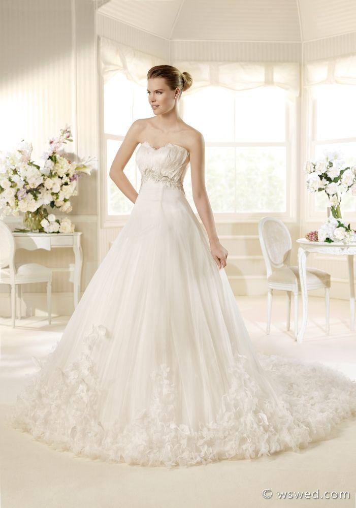Trending Used La Sposa Wedding Dress Morisca Size