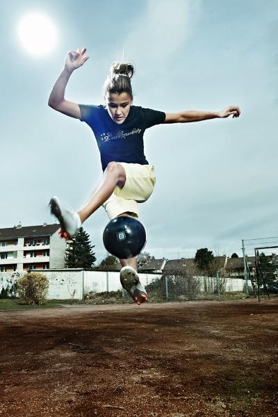 Freestyle-Soccer Aylin Yaren