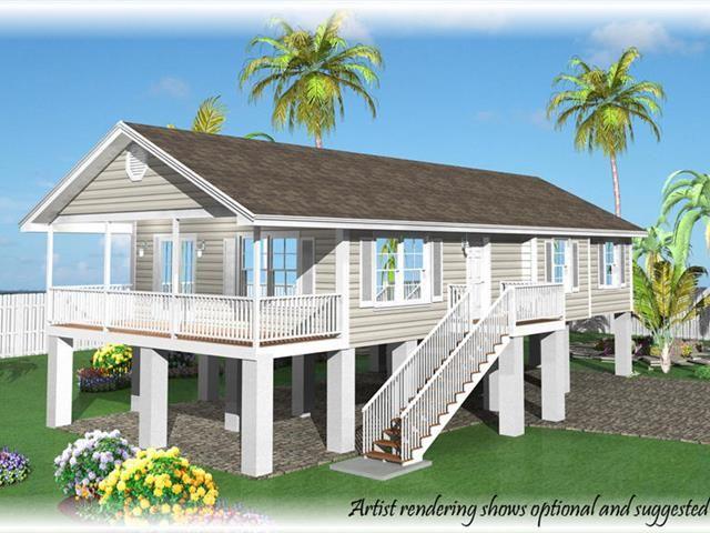 27363 St Martin Lane Coastal House Plans Stilt House Plans Beach House Plans