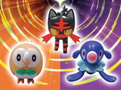 GAME UK - Preorder Pokemon Ultra Sun/Ultra Moon for a free figurine   Pre-Order Pokémon Ultra Moon and receive a free Rowlet Litten or Popplio figurine! Figurine will be randomly selected.  Grab yours here  from GoNintendo Video Games