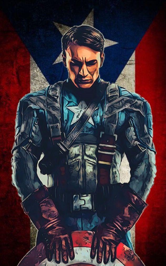 Captain America (Puerto Rico) | Captain america, Superhero ...