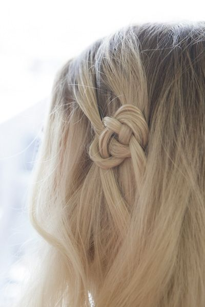 Celtic Knot -- summer hairstyle