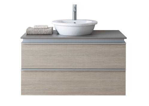 Badkamermeubel Duravit Darlin New. Meer badkamermeubels op: http://vanwanrooijtiel.nl/inspiratie/badkamer-ideeen/badkamer-onderdelen/badkamermeubels/