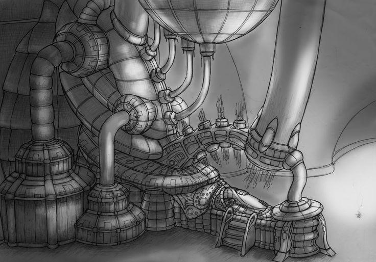 CryoTube, Peter Kneeshaw on ArtStation at https://www.artstation.com/artwork/XDzL3