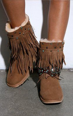 Rocker Fringe Boot, if these are your cup of tea,...I love them.....