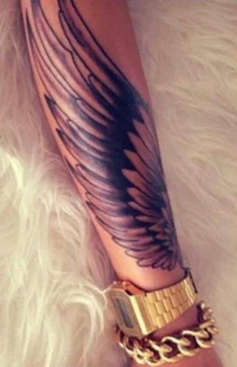 Wing tattoo wings ailes tattoo expression tatouage for Hard ink tattoo