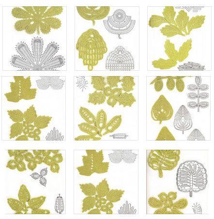 17 Best ideas about Crochet Leaves on Pinterest Crochet ...
