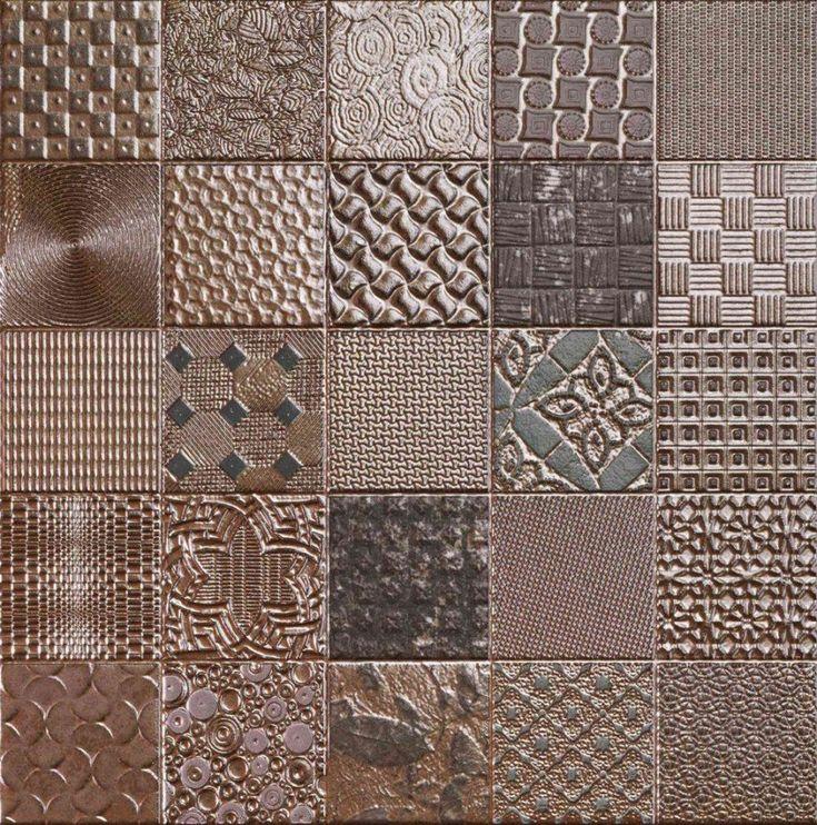 Metallic Mosaic Effect Wall Tile