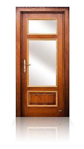 B-IÜ 9131 Üveges klasszikus beltéri ajtó