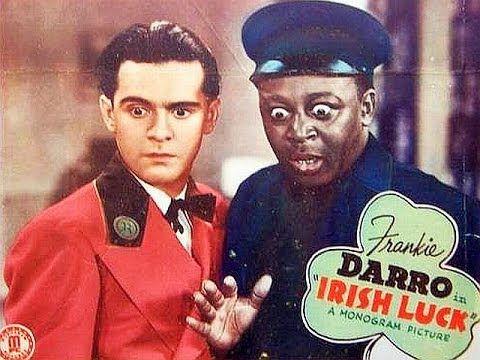 IRISH LUCK (1939) Frankie Darro - Mantan Moreland - Dick Purcell