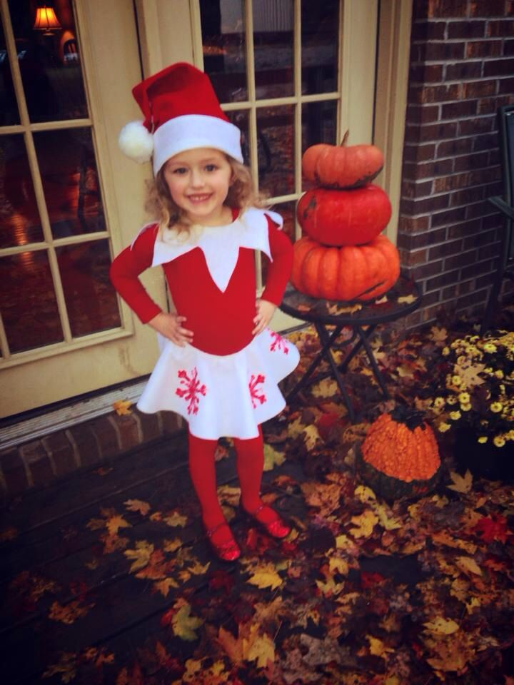 Snowflake the Elf on the Shelf Costume, Do-it-Yourself!