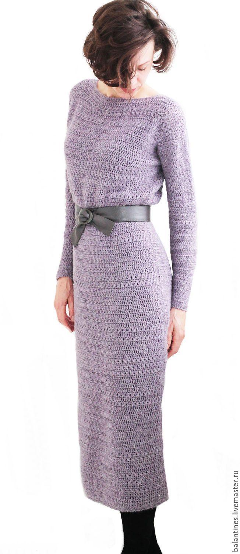 Buy Dress crochet handmade Purple haze - knit dress, knit dress crochet