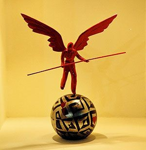 Acrobat angel. by ArchStudioGallery on Etsy, €250.00