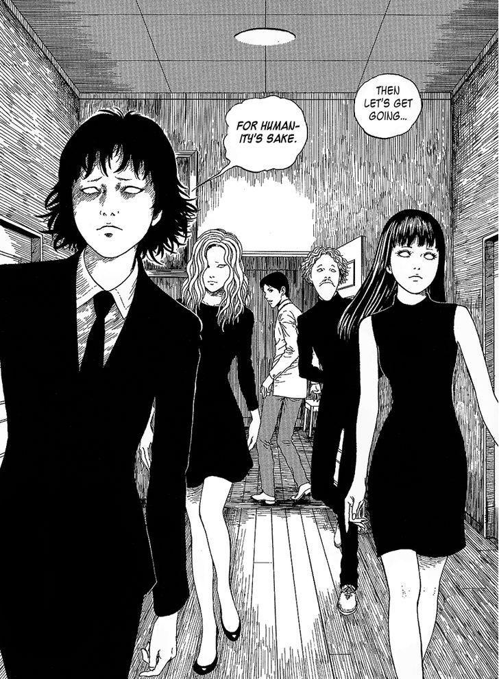 Junji itos black paradox junji ito japanese horror