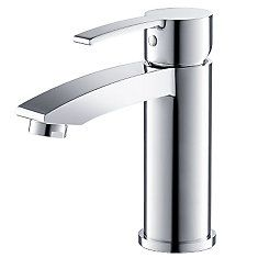 Livenza Single Hole Mount Bathroom Vanity Faucet in Chrome Finish