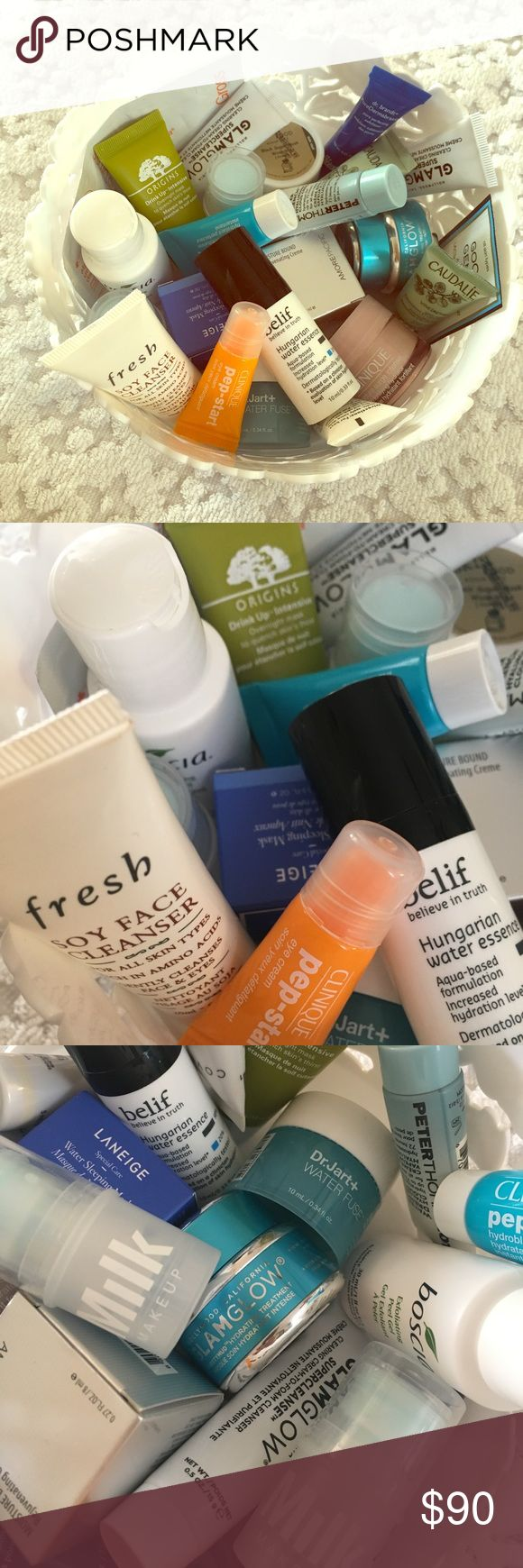 💋 BEAUTY PICK-3 💋 💋ANY 3 for $13 💋   List Updated 3/1/18 @ 9pm EST:  -GlamGlow SuperCleanse -Peter Thomas Roth-Firmx Peel -Peter Thomas Roth-Water Drench Hyaluronic Cloud Cream -Fresh-Soy Face Cleanser -Caudalie-Glow Activating Anti-wrinkle Face Serum -Real Chemistry-Luminous 3-min Peel -Vasanti-BrightenUp! Enzymatic Exfoliating Cleanser -air repair-Super Hydrating Eye Cream -skinfood-Black Sugar Mask Wash Off -Eau Thermale Avene-Hydrance Intense Rehydrating Serum -Origins-Drink-Up…
