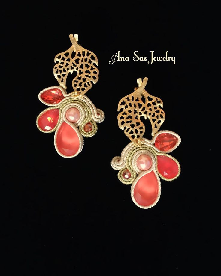 "50 aprecieri, 1 comentarii - Ana Sas (@anasasjewelry) pe Instagram: ""#soutache #statementearrings #earrings #orecchini #cercei #pendientes #handmadejewelry #handmade…"""