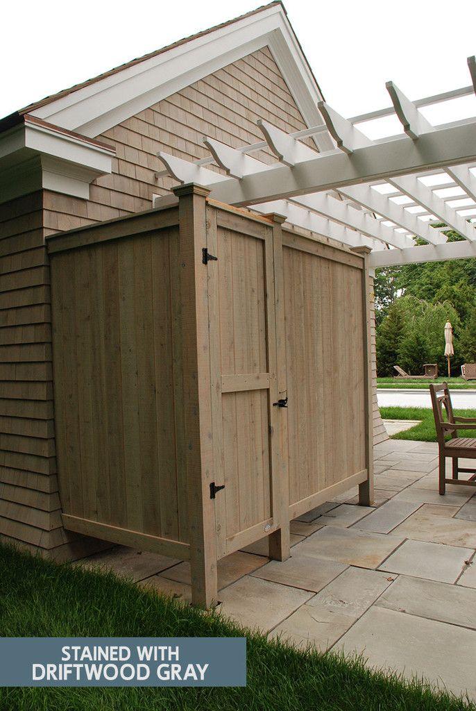 Outdoor Shower Enclosure