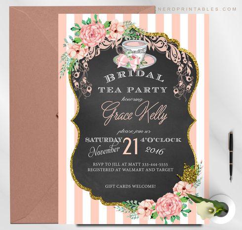 bridal shower tea party party bridal brunch brunch