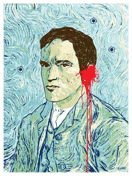 Van Tino Quentin Tarantino Van Gogh Reservoir Dogs