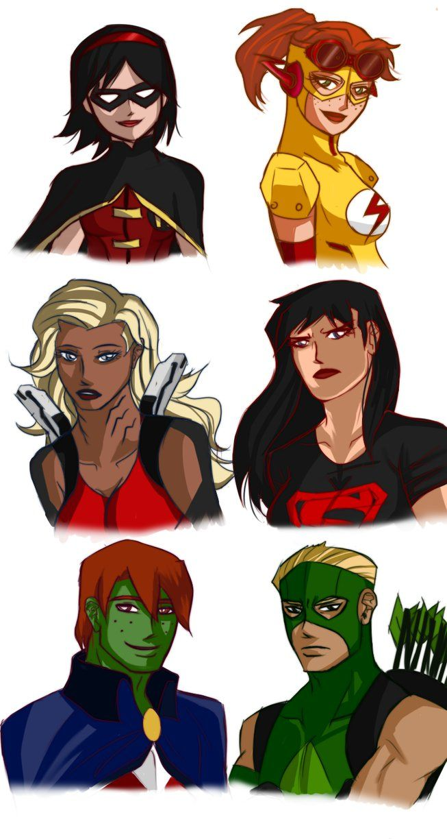 young justice invasion gender swap - Google Search