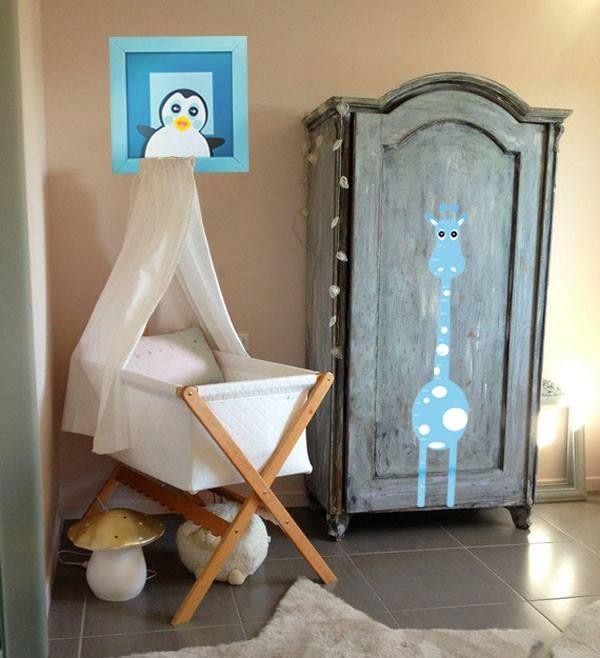 #decoracion #bebe #cuardo #cuna #cuentometro #cuadros #pinguino #jirafa http://www.regalosdirecto.com.mx/para-el-bebe/igriega-kids.html
