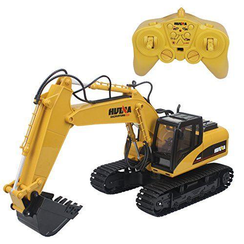 Hugine 15 Channel 2.4G Crawler Remote Control Excavator – RC Radio Control