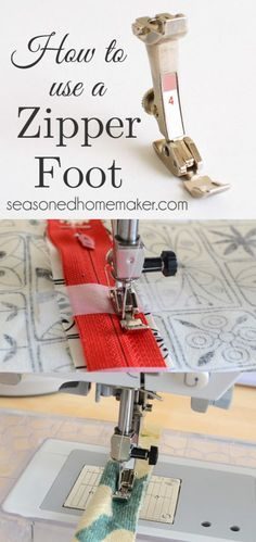 Sewing a zipper is very easy. There is no need to be afraid of inserting a zipper because it is easy to install. All you need is a Zipper Foot and adding a zipper is a snap. I show you how in this simple tutorial. You'll be an expert in no time at all.