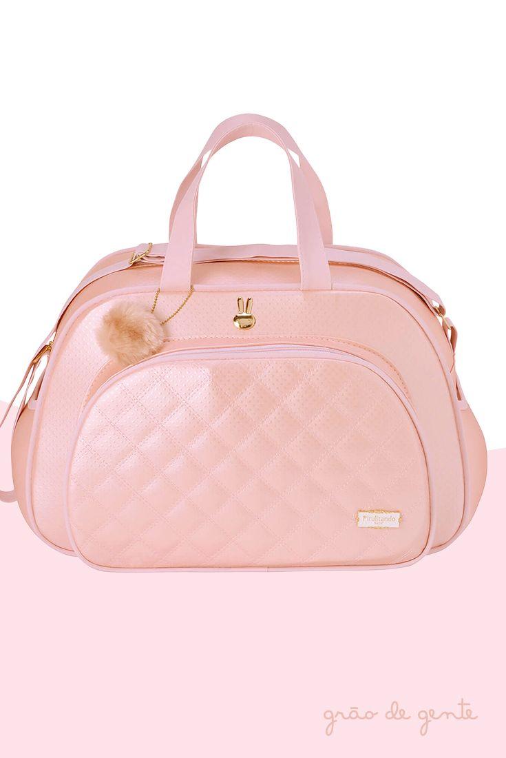 5fc0c531e7310 A Bolsa Maternidade Pilli na cor rosa