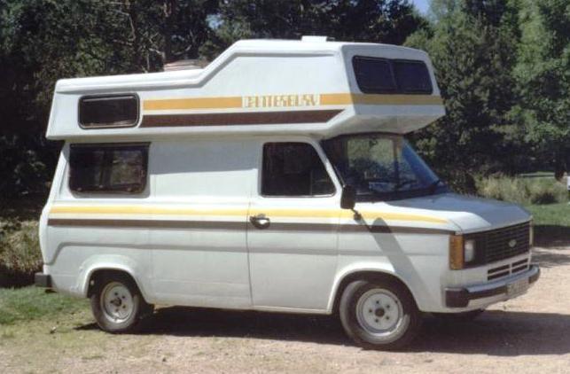 mk2 ford transit camper with a turtle top trailer. Black Bedroom Furniture Sets. Home Design Ideas