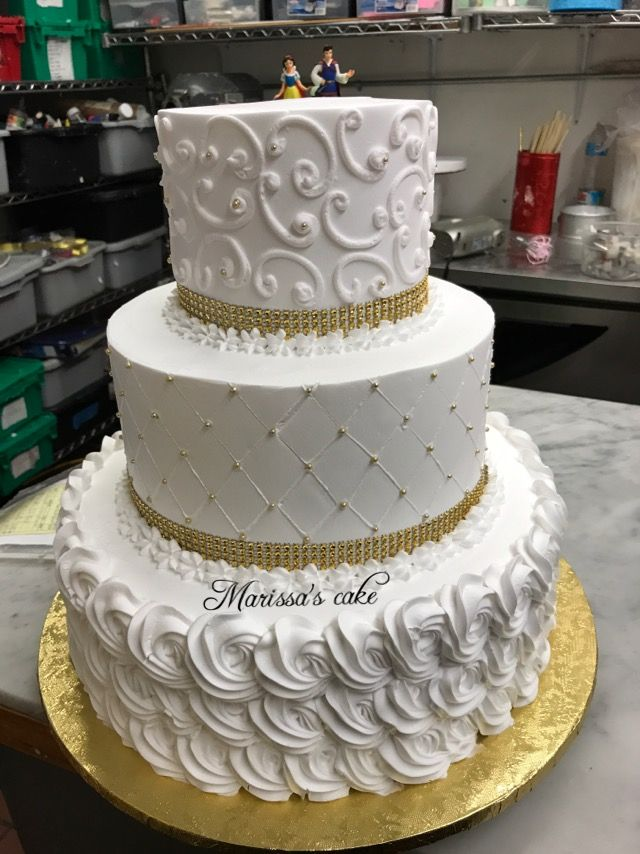 Modern Wedding Cake Artcake Pretty Embroiderycake Art