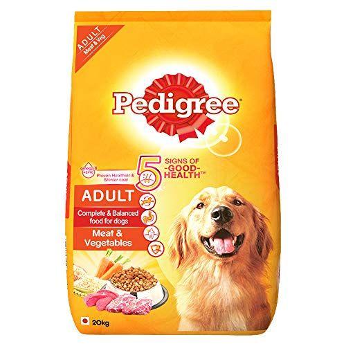 Pedigree Adult Dry Dog Food Meat Vegetables 20kg Pack Pedigree
