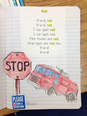 Poetry in Kindergarten, love these cute poetry notebooks! :)
