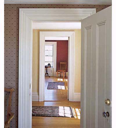 13 Easy Door Surround Profiles From Stock Molding & 44 best Internal doors images on Pinterest | Doors Internal doors ... pezcame.com