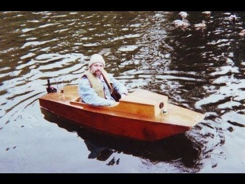Electric Boat (Plans now available) - Creative Ideas | Elkins DIY