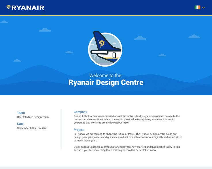 Ryanair Design Centre On Behance
