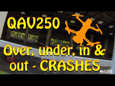 Some of the crashes from our 'Over, under, in & out' video. QAV250 mini quadcopter from Lumenier, proximity FPV Flying. #DRONE #RACING #LUMENIER www.MrGyro.co.uk