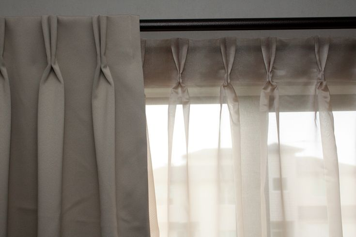 Drapes With Hidden Rod Google Search Living Room