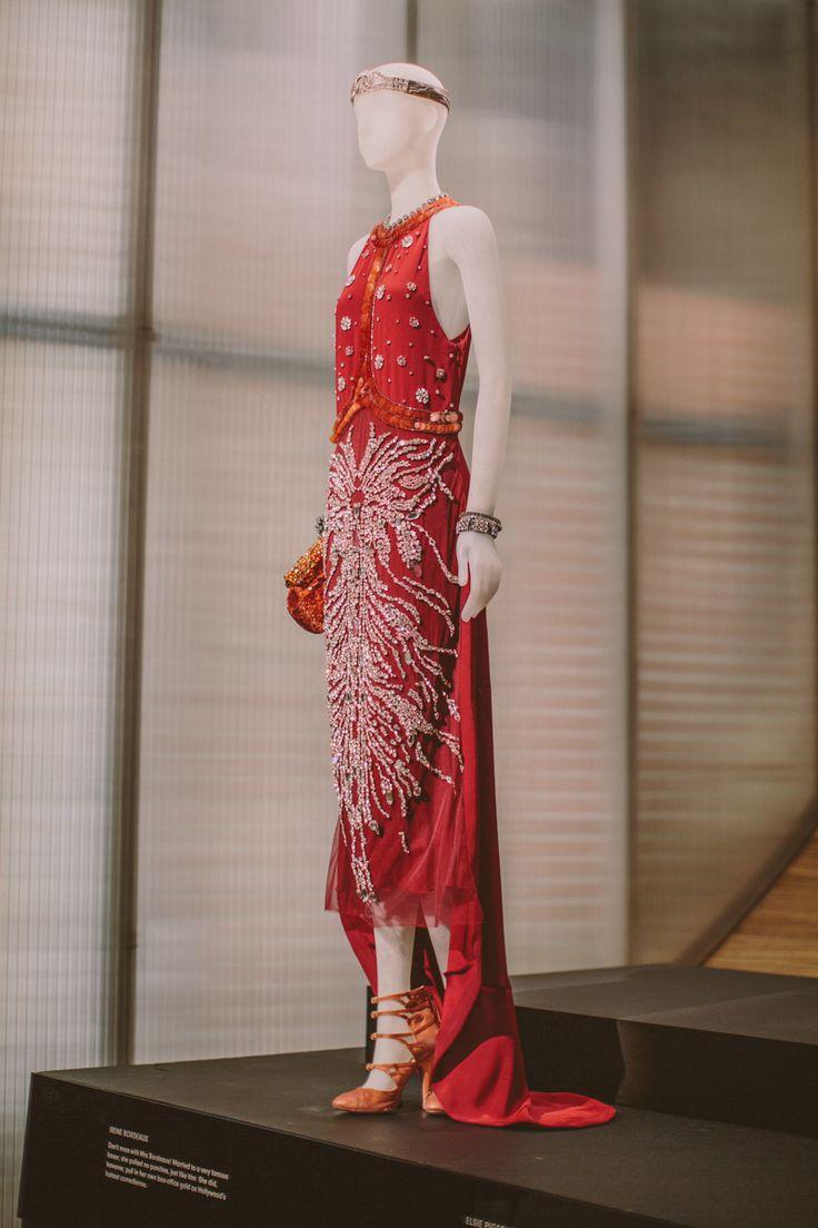Charlotte g shore red dress 20s
